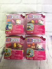 Mega Bloks Hello Kitty Tiki Surfing Mimmy Mermaid Summer Series Mini Figure Lot