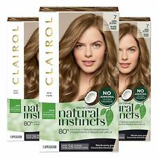 (3 Pack) Natural Instincts Clairol Non-Permanent Hair Color - 7 Dark Blonde