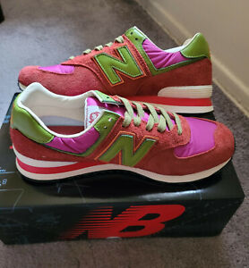 New Balance 574 Stray Rats Red ML574RAT Size 12,11.5 and 11US New with Box