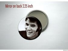 Elvis Presley laughing Pocket /Purse Mirror