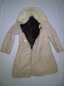 Soviet Russian army Bekesha Tulup coat 50-1 size