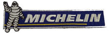 New Michelin logo Tire Racing embroidered iron on patch. 5.3 x 1.75 inch (i131)