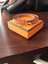 Authentic Hermes Leather Bracelet Hapi 3 Size S