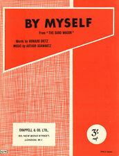 BY MYSELF Music Sheet-1937-DIETZ/SCHWARTZ-THE BAND WAGON-British Edition