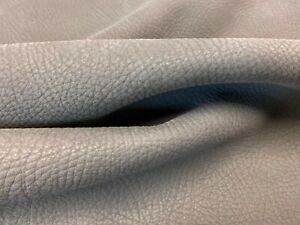 51.75 sq ft EDELMAN LEATHER Sueded Buffalo Bull Fog Natural Nubuck Leather Hide