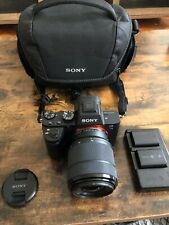 SONY Alpha a7ii Full Frame Mirrorless Camera with 28-70mm Lens and Accessories