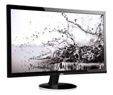 AOC Q2778VQE 27 inch LED 1ms Monitor - 2560 x 1440, 1ms Response, HDMI, DVI
