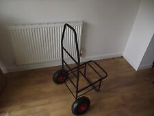 fishing trolley - folds flat  - leaflet deliveries - festival  - Collect TS17