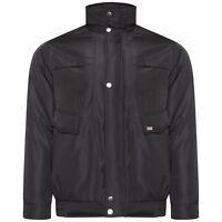 hombre invierno Bomber Estilo Acolchado full zip jacket abrigo talla M L XL 2xl