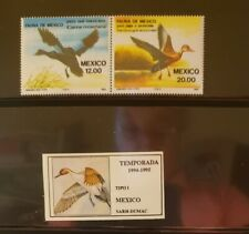 Mexico Lot of 2 Ducks/Widlife Stamps MNH - See details for list