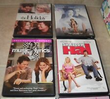6 DVD Lot Romance The Holiday, Shallow Hal, Music and Lyrics, Guess Who, Maid