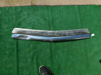 1951 Chevrolet chrome grille bar with washboard deflector backing plate 51 Chevy