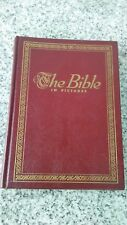 vintage 1952 The Bible in pictures