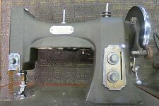 VINTAGE WHITE ROTARY ELECTRIC SEWING MACHINE 77MG-67983