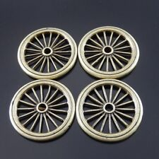 09682 Antiqued Bronze Alloy Car Wheel Charms Pendant Craft Findings 8 PCS
