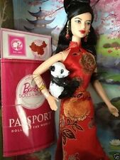 2012 Barbie Collector Dolls of the World China Doll Pink Label NRFB MINT DOW 6+