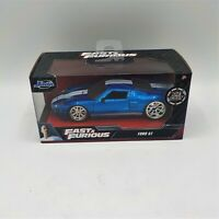2020 Fast & Furious Ford GT Collectors Series Blue Die-Cast 1:32 Scale Jada NIP