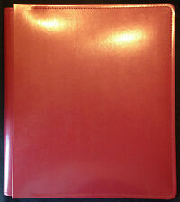 Creative Memories picfolio 11x14 red leather, OOP, near mint