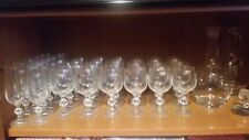 Bohemia crystal glasses set 36+3 pieces, years 80, bnnw labeled