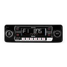 Autoradio USB Bluetooth Lettore CD Estraibile RDS Retro Radio AM FM Mp3 Nero