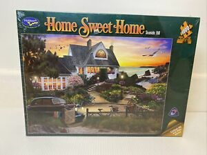 Holdson 1000 Piece Jigsaw Puzzle Home Sweet Home Seaside Hill David Maclean Art
