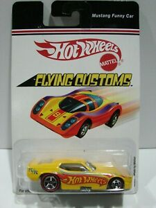 Hot Wheels Flying Customs Mustang Funny Car