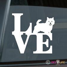 Love Norwich Terrier Sticker Die Cut Vinyl - park
