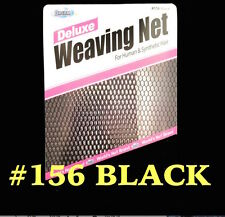DREAM DELUXE WEAVING NET # 156 BLACK FOR HUMAN & SYNTHETIC HAIR NET FOR WEAVES