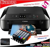 MULTIFUNCION CANON MG5750 INYECCION COLOR A4 WIFI DUPLEX (PROPUESTA EN BROTHER)