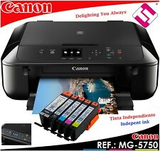 MULTIFUNCION CANON PIXMA MG5750 INYECCION COLOR A4 WIFI DUPLEX TINTAS X MENOS 5€