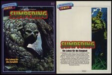 German Variant magazine-sized Swamp Thing #1+#2 (1972 series) in one giant book!