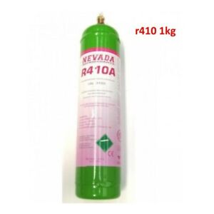 BOMBOLA gas FREON R410 1 LT RICARICA CLIMATIZZATORI CONDIZIONATORE REFRIGERANTE