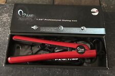 "ME Makeover Essentials 1.25"" Professional Styling Iron Red"