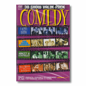 COMEDY 30 Show Value Pack DVD Laurel Hardy Dean Martin Jerry Lewis Costello NEW