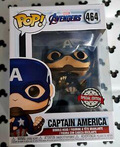 Funko Pop Marvel Avengers 464 Captain America Avengers Steve Rogers Vinyl Figure