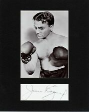 JAMES CAGNEY,  CUSTOM 8 by 10 MATTED REPRINT PHOTO & REPRINT  AUTOGRAPH