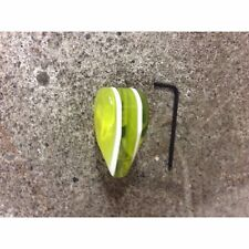 Yellow Small Tear Shape Dash Knob Radio On/Off 12v Switch spotlight headlight v8