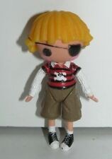 "Lalaloopsy Pirate Eye Patch Boy MGA 3"" Scale Toy Figure"