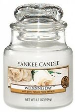 Yankee Candle Jar Candle Wedding Day Authentic True-tolife Fragrance Small