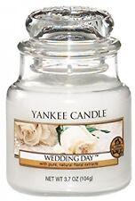 Yankee Candle Vela del tarro de día de bodas auténtico True-tolife pequeños fragancia