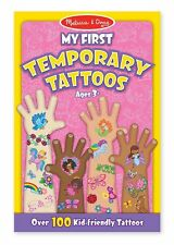 Melissa & Doug My First Temporary Tattoos, Pink - NEW!