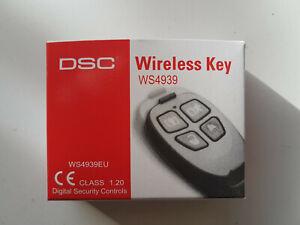 DSC WS4939 EU  Home Alarm Security System Wireless Key Remote Control Key