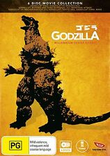 GODZILLA : THE MILLENNIUM SERIES (6 disc Set) -  DVD - REGION 4 - Sealed