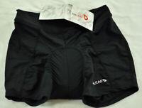 women's Baleaf base layer bike shorts size small black elastic waist pad crotch