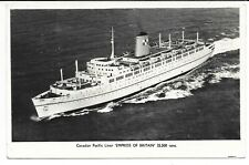 NEWFOUNDLAND 1956 EMPRESS OF BRITAIN POST MARK ST JOHNS