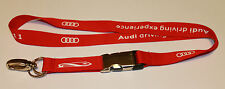 Audi driving experience IAA 2011 Schlüsselband Lanyard NEU (T106)