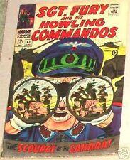 SGT. FURY 43 SERGEANT '63 HOWLING COMMANDO NICK F