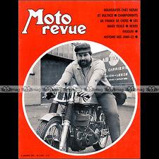 MOTO REVUE N°2010 SUZUKI TS 250 GT 750 TM 400 NORTON MANX RENZO PASOLINI 1971
