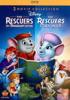 The Rescuers / The Rescuers Down Under DVD (2-Disc 35th Anniversary Edition) NEW