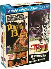 Terror/Dementia 13 (Blu-ray New)